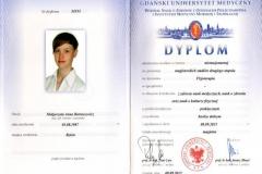 Dyplom magister