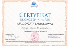 Certyfikat Terapia Punktów Spustowych